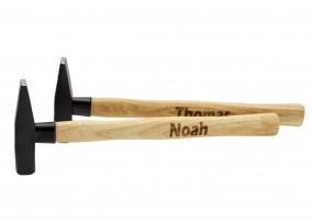 Hammer mit Lasergravur