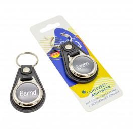 Schlüsselanhänger mit Einkaufschip und DEINEM Namen