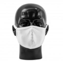 Textil Atemmaske, 2-lagige Maske, 100% Baumwolle, waschbar, sofort lieferbar